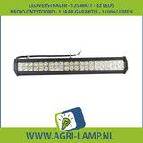 LED Verstraler 126 Watt, 12V 24V, Extra fel, Voor Extreem veel licht._