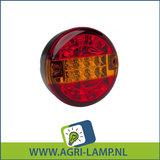 LED Achterlicht 3f, achterlicht, remlicht, knipperlicht 12V-24V_