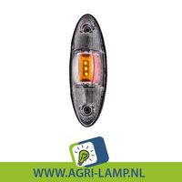AANBIEDING. Zijmarkeringslamp LED led wit, oranje en rood 24V