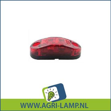 Contour LED rood 12V-24V