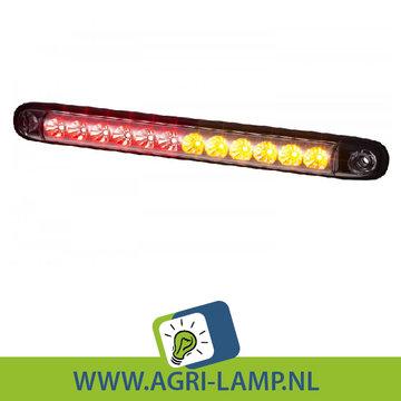 Achterlicht unit helder, smal en lang 12V, 24V