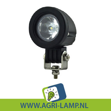 LED Cree werklamp 10 Watt rond, 12v 24v 10w