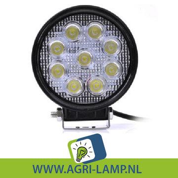 LED Werklamp 27 Watt, 12V 24V (vanaf 19,45) 27w