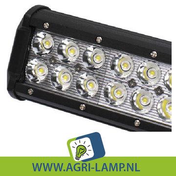 LED Verstraler 126 Watt, 12V 24V, Extra fel, Voor Extreem veel licht.