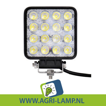 LED Werklamp 48 Watt, 12V 24V  48w