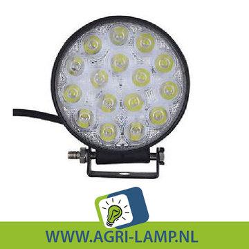 LED Werklamp 48w, 12V 24V (vanaf 21.95) 48 Watt