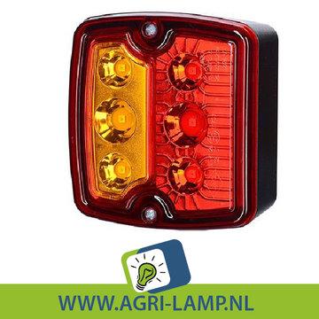 Multilamp LED trekker, achter, 12v 24v, set van 2