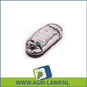 Contour LED zijmarkeringsled 12v 24v multivolt
