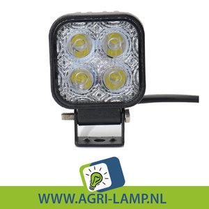 12 Watt LED werklamp 12V 24V 12W